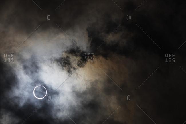 Total lunar eclipse of the sun on September 1st 2016, Tamatave, eastern Madagascar, Africa