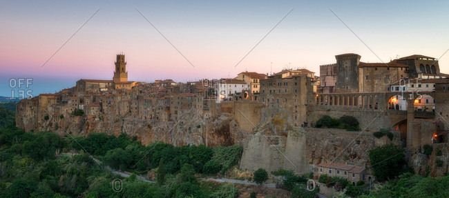 Pitigliano, Umbria, Italy, Europe