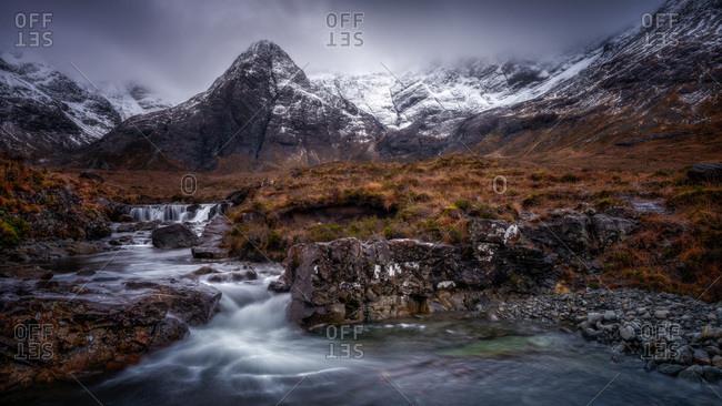 Fairy Pools, Isle of Skye, Inner Hebrides, Scotland, United Kingdom, Europe