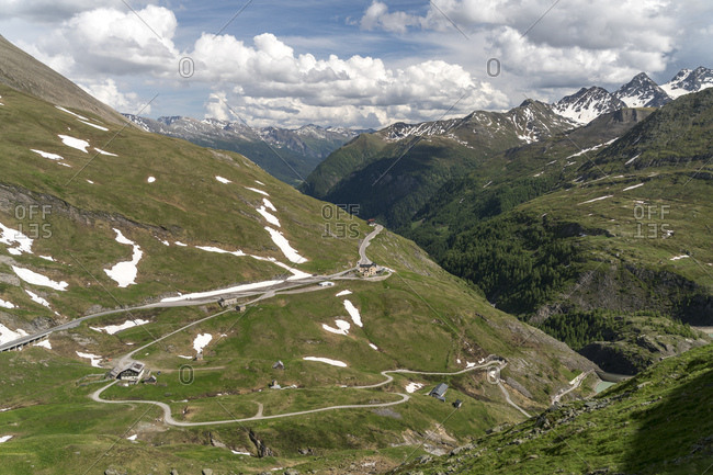 Austria, Carinthia, High Tauern National Park, Grossglockner High Alpine Road