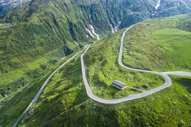 Switzerland, Canton of Uri, Urseren Valley, Furka pass