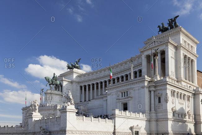 Vittoriano, National Monument Vittorio Emanuel, Piazza Venezia, Rome, Lazio, Italy, Europe