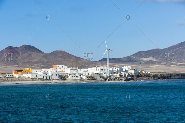 Puerto de la Cruz village in the very south, Fuerteventura, Canary Islands, Spain, Atlantic, Europe