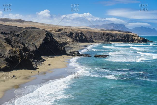 Playa del Viejo Rey, La Pared, Fuerteventura, Canary Islands, Spain, Atlantic, Europe