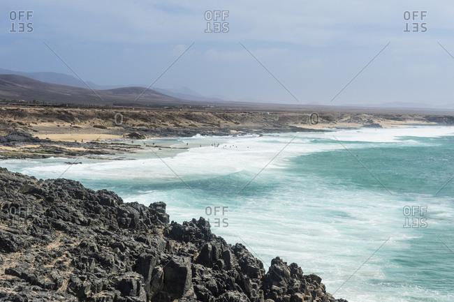 El Cotillo beach, El Cotillo, Fuerteventura, Canary Islands, Spain, Atlantic, Europe