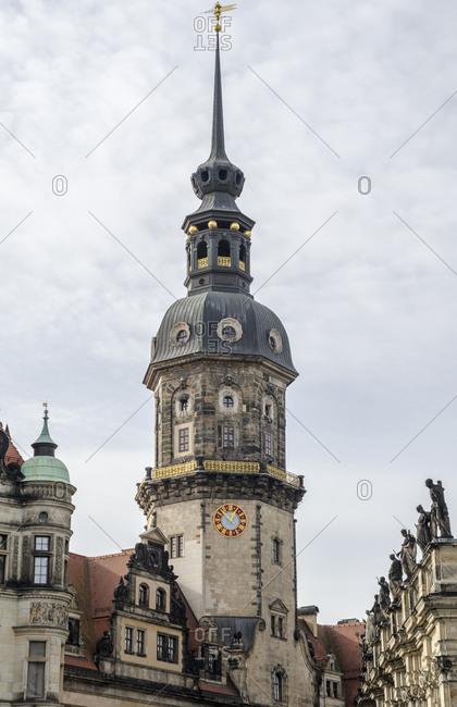 Hausmann Tower in Dresden, Germany