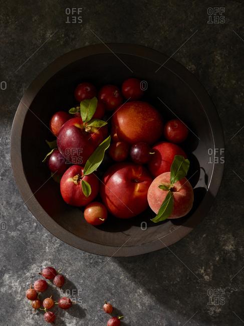 Bowl full of fresh fruits
