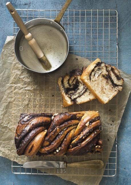 Chocolate babka bread - Offset Collection