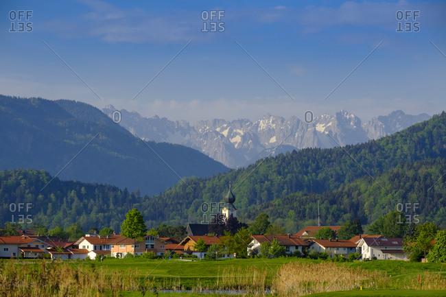 Germany- Bavaria- Upper Bavaria- Chiemgau- Grassau- Kaiser mountains