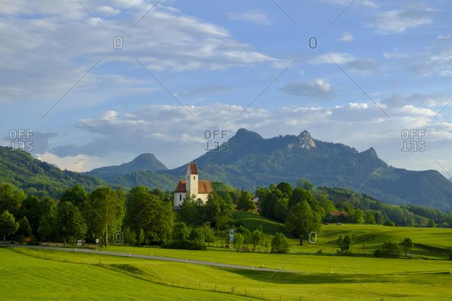 Germany- Bavaria- Upper Bavaria- Chiemgau- Grainbach- Samerberg- Heuberg