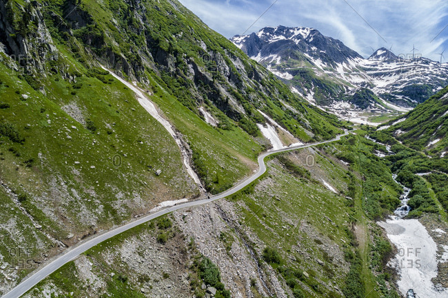 Switzerland- Valais- Nufenen Pass