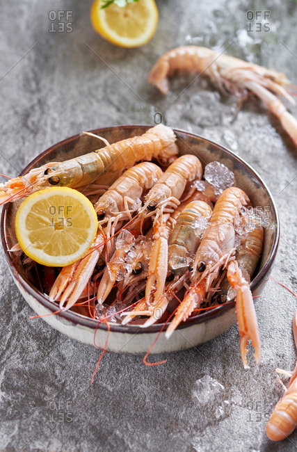 Langoustines photo from the Offset Collection