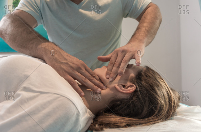 Alternative therapy body treatment, It is a body massage where you stimulate body tissues