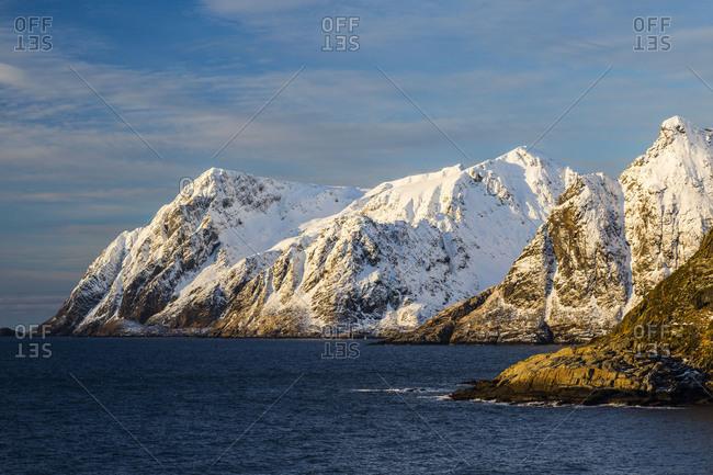 Europe, Norway, Nordland, Lofoten, Winter