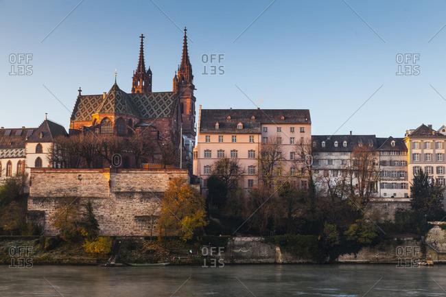 Europe, Switzerland, Basel, historic city center