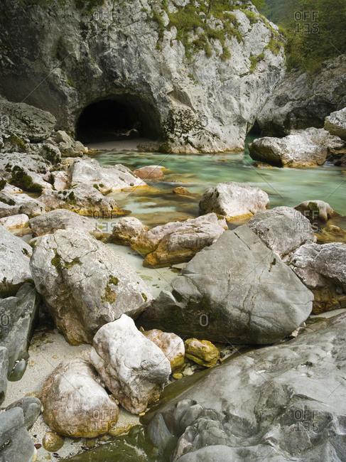 Soca, Triglav national park, Julian Alps, Slovenia