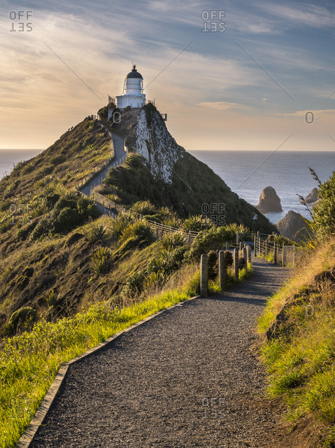 New Zealand- South Island- Southern Scenic Route- Catlins- Nugget Point Lighthouse