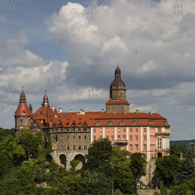 Europe, Poland, Lower Silesia, Schloss Fürstenstein, Ksiaz