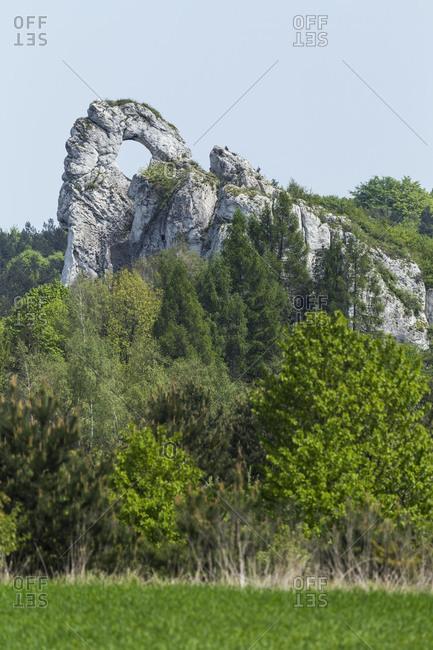 Europe, Poland, Silesia, Krakow-Czestochowa Upland / Polish Jurassic Highland, Okiennki Wielki
