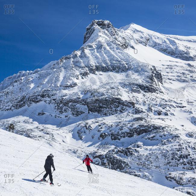 Europe, Austria, National Park Hohe Tauern, Salzburger Land, Salzburg State, Uttendorf, Weißsee Glacier World, Winter Austria