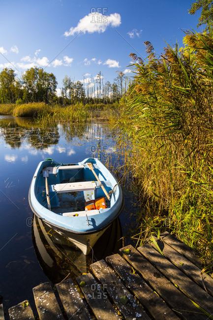 Europe, Poland, Masuria, Dziewiszewo, Dziewiszewskie Lake