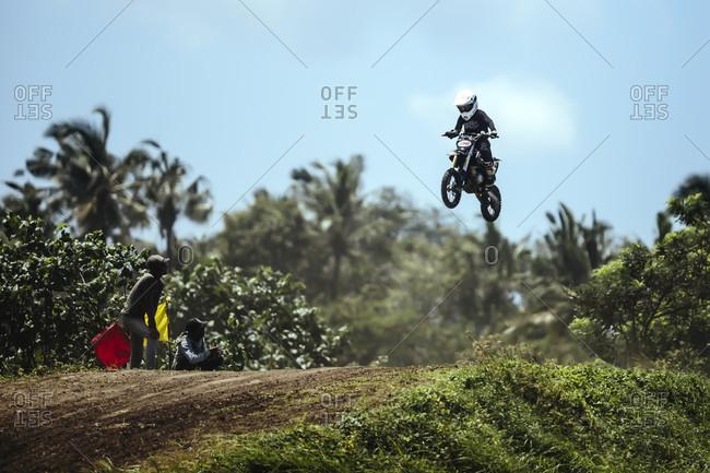 October 13, 2017: Deus Ex Machina motocross competition, Canggu, Bali, Indonesia
