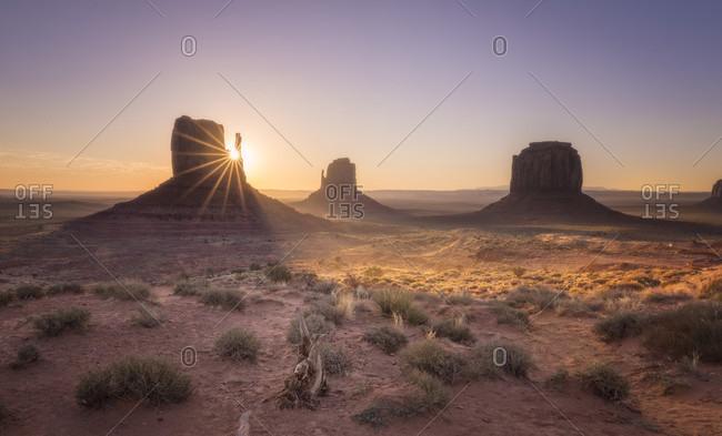 Monument Valley, Utah, USA - Offset