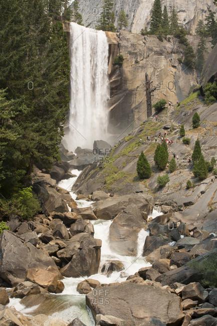 Nevada Fall, Yosemite National Park, California, USA
