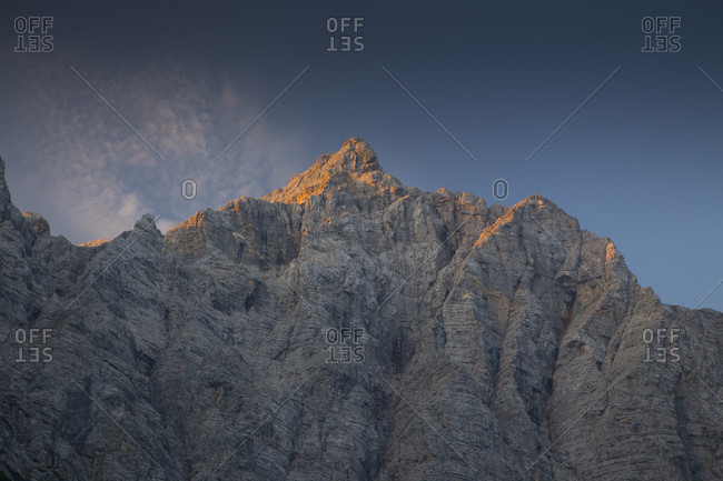 Triglav mountain peak, Vrata Valley, Slovenia
