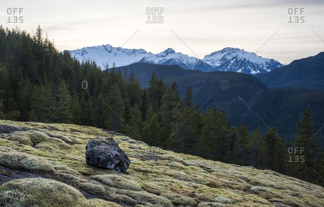 Tantalus mountain range, Squamish, British Columbia, Canada