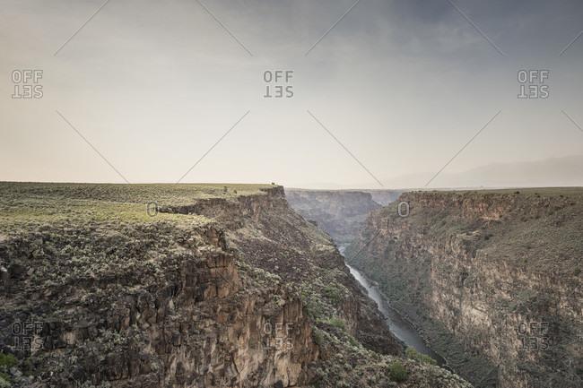 Rio Grande Gorge, Taos, New Mexico, USA
