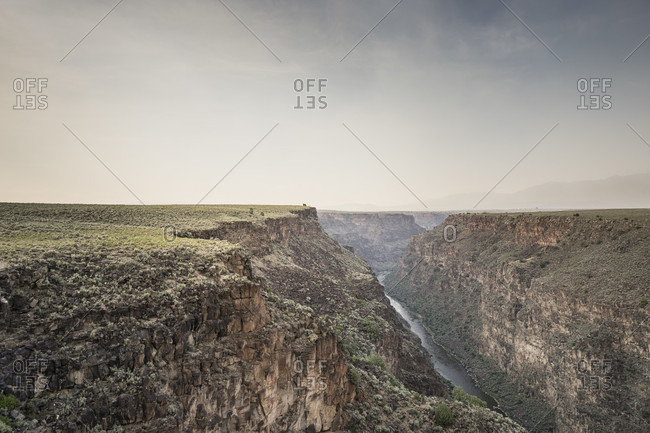 Rio Grande Gorge, Taos, New Mexico, USA