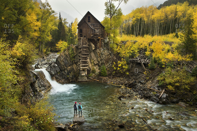 Crystal Mill, Colorado, USA