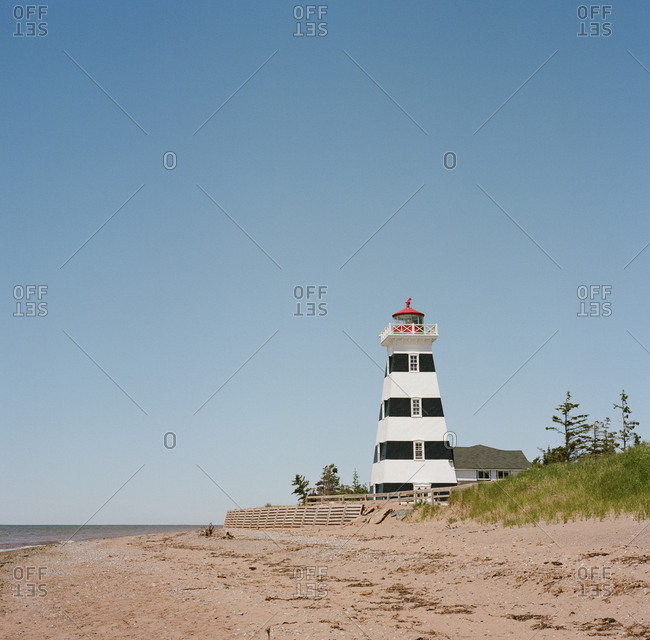 West Point Lighthouse, Prince Edward Island, Canada