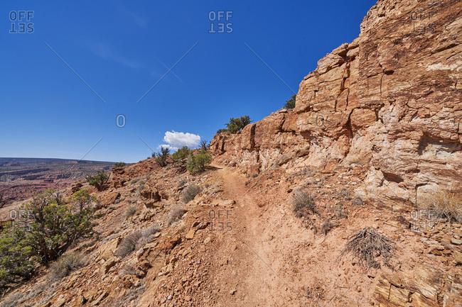 Hillside in Capital Reef National Park, Utah