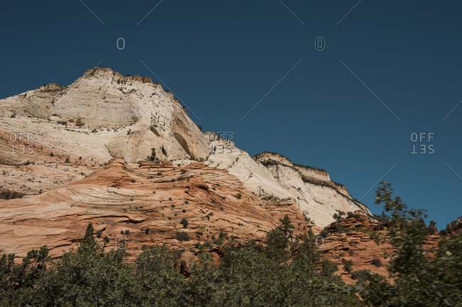 Rock formation at Zion National Park