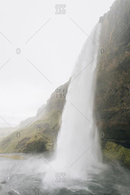 Seljalandsfoss waterfall south Iceland