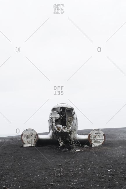 Plane wreck near Solheimasandur Iceland