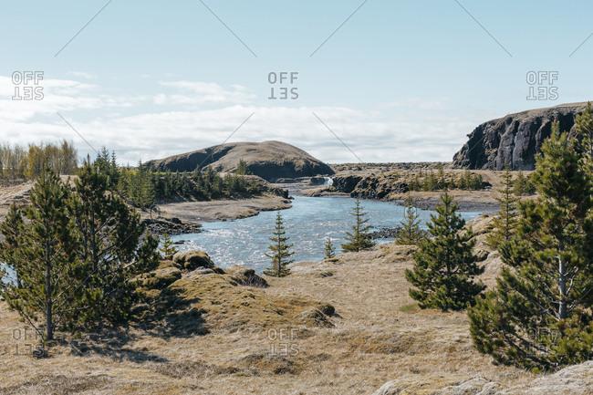 Glacier river in Iceland - Offset