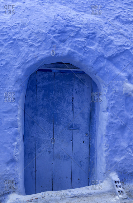 Chaouen the blue city of Morocco, streets, doors, windows, details