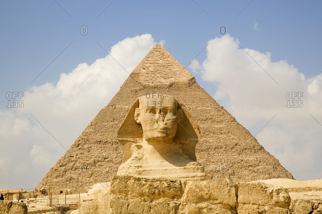 Pyramid and Sphinx, Cairo, Egypt