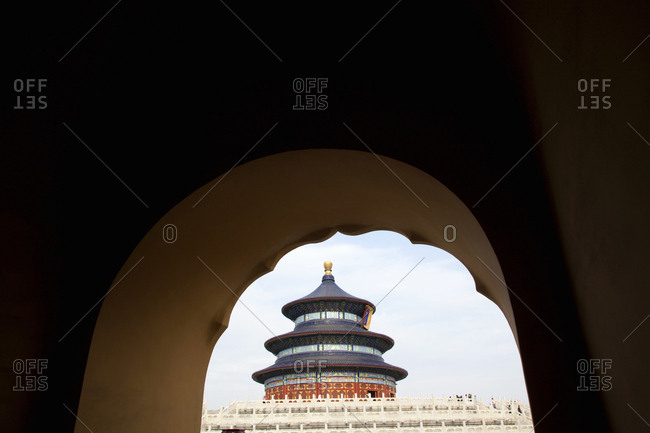 Temple of Heaven at the Forbidden City Palace complex, Beijing, China