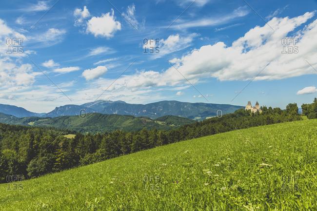 Austria- Lower Austria- Neunkirchen District- Burg Wartenstein