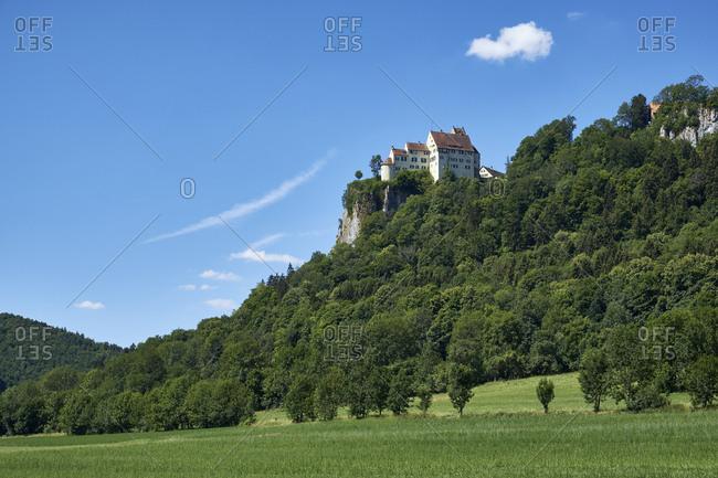 Germany- Baden-Wurttemberg- Sigmaringen district- Werenwag Castle