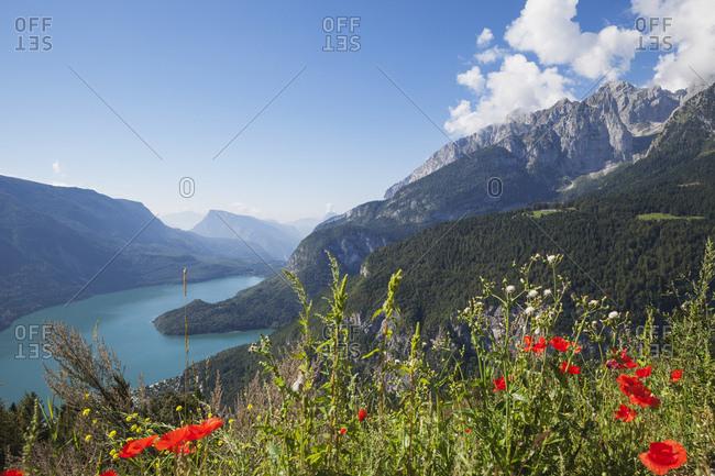 Italy- Trentino- Brenta Dolomiten- Lago di Molveno