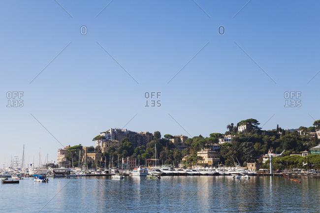 September 4, 2013: Italy- Liguria- Riviera di Levante- Golfo del Tigullio- Rapallo- harbor