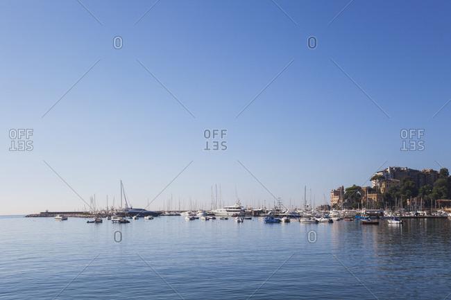 Italy- Liguria- Riviera di Levante- Golfo del Tigullio- Rapallo- harbor