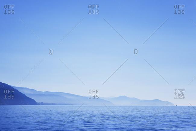Italy- Liguria- Riviera di Levante- coast