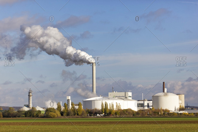 November 6, 2012: Germany- Lower Saxony- Nordstemmen- Industrial plant Nordzucker
