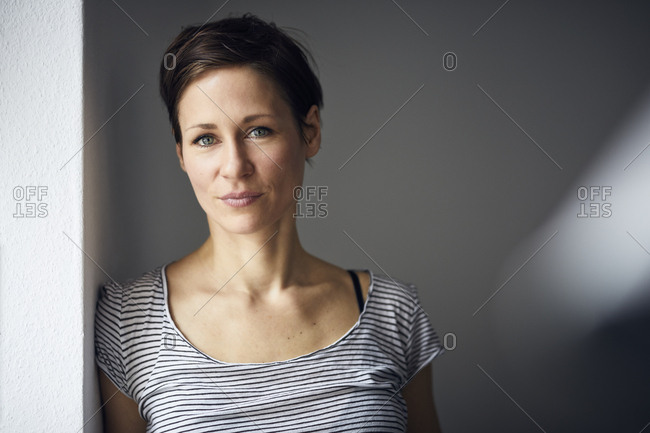 Portrait of an attractive- independent woman